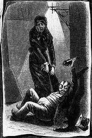 Žena izvlači muža