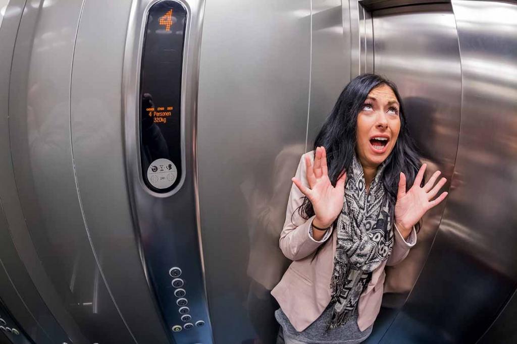 fobija od lifta